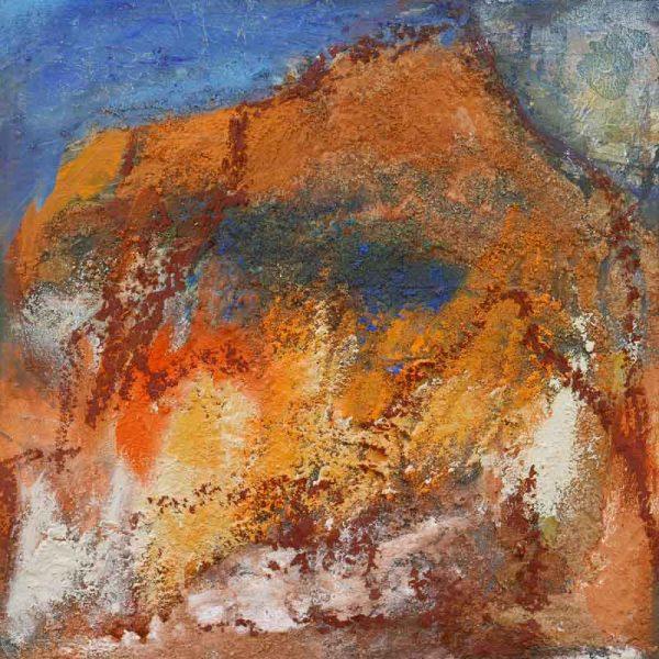 Journey-I-mixed-media-on-canvas-40x40cm