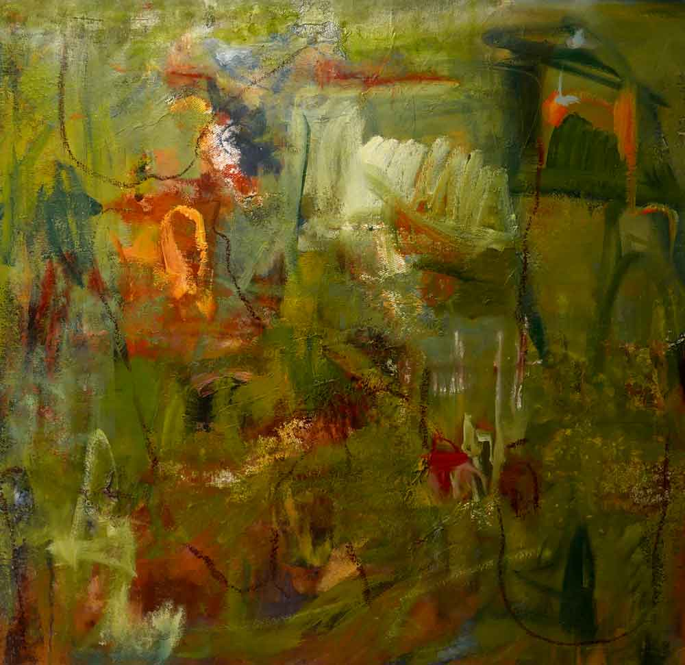 robyn nolan large abstract oil painting